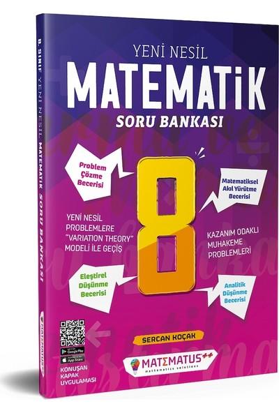 Matematus Yayınları 8. Sınıf Yeni Nesil Matematik Soru Bankası