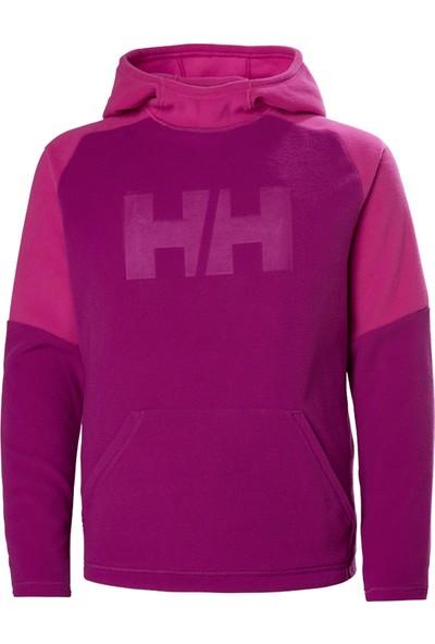 Helly Hansen HHA.41688 Hh Jr Daybreaker Hoodie HHA.039 Fuşya Helly Hansen Polar (Baştan Geçme) Çocuk