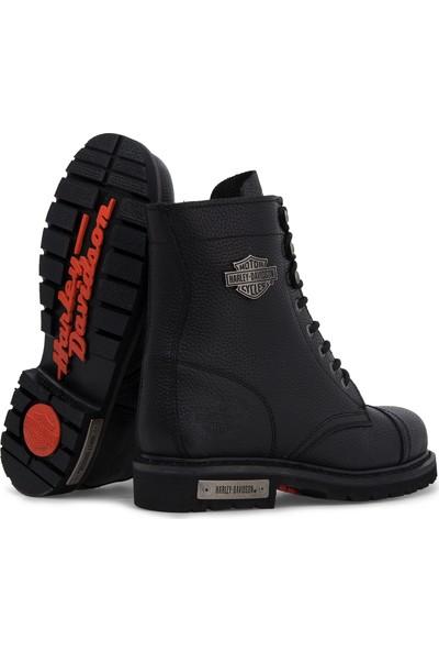 Harley Davidson Colmar 025M100553 Siyah Erkek Bot