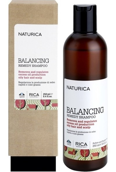 Naturica Balancing Remedy Shampoo - Arındırıcı Şampuan 250 ml