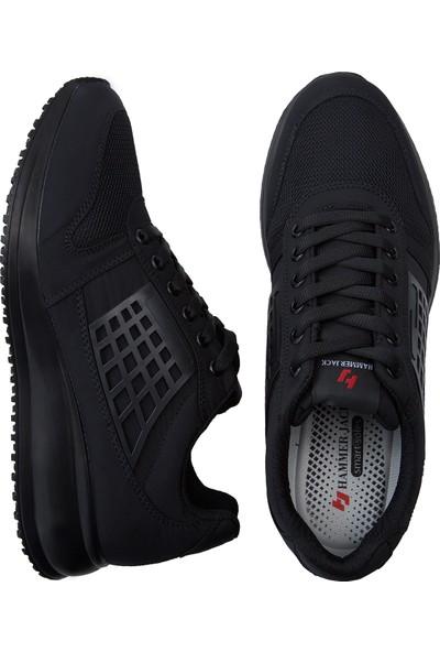 Hammer Jack Erkek Siyah Günlük Ayakkabı