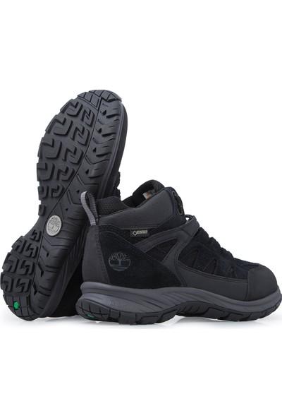 Timberland Siyah Erkek Ayakkabısı A1Qqc-001 Sadler Pass F/L Mid Gtx