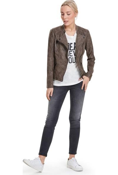 Only Deri Ceket Onlava Faux Leather Biker 15102997-Fal