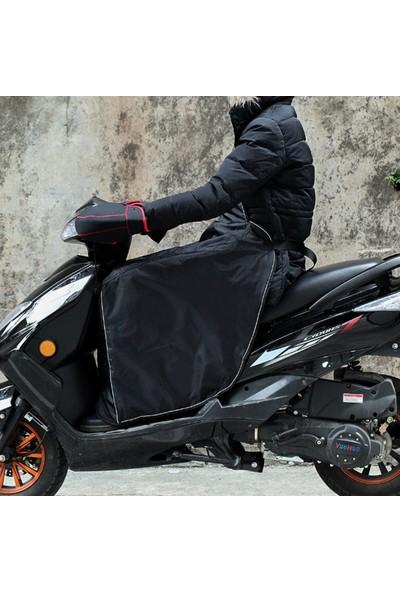 Bundera Scooter Diz Koruma Örtüsü Motorsiklet Dizlik Yağmur Rüzgar Önleyici Koruyucu Örtü Rüzgarlık
