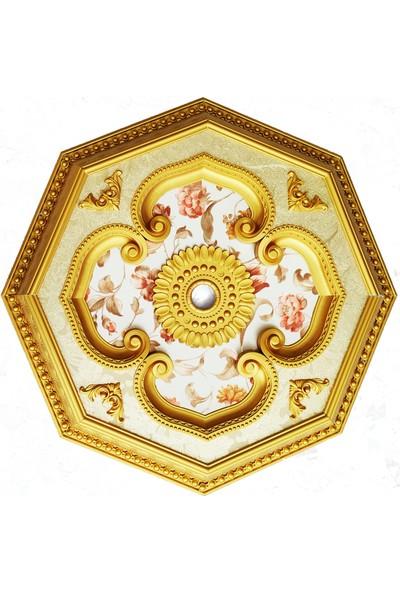 can Altın Sekizgen Saray Tavan 70 cm