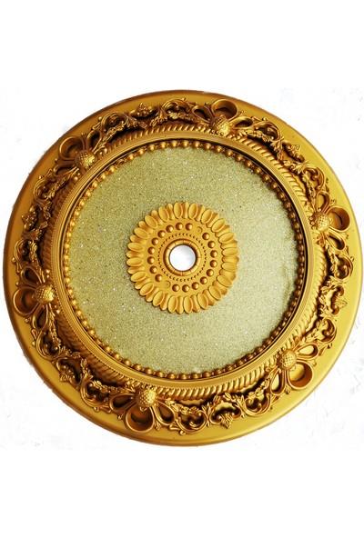can Oval Altın Saray Tavan 60 cm