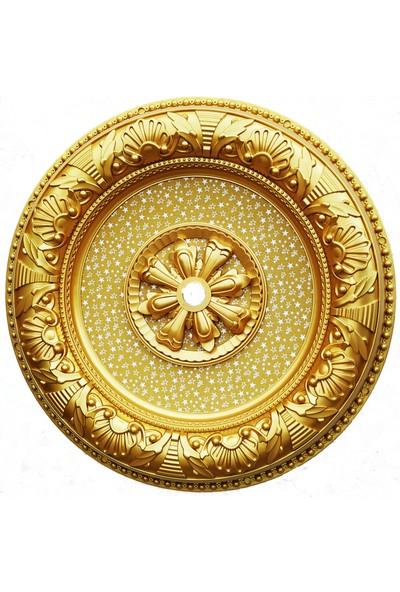 can Oval Altın Saray Tavan 70 cm