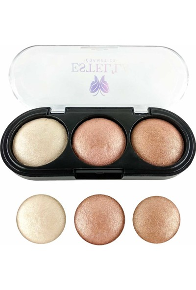 Estella 3'lü Highlighter [no:2]