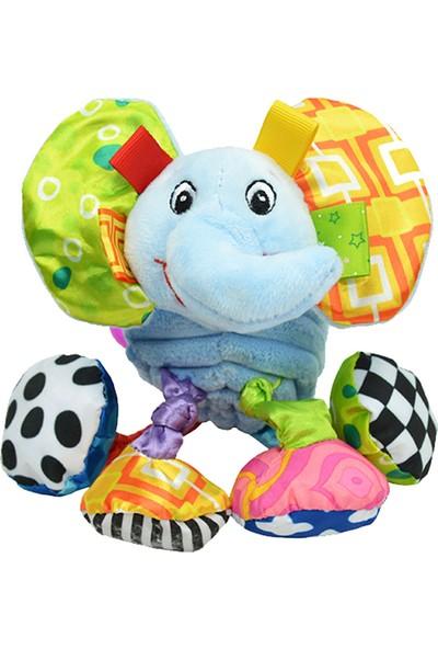 Sozzy Toys Çıngıraklı Hayvanlar Fil SZY155