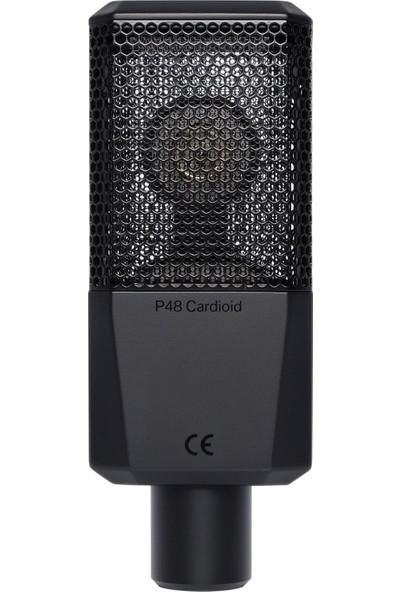 Lewitt Lct 240 Pro Kondenser Stüdyo Kayıt Mikrofonu Siyah
