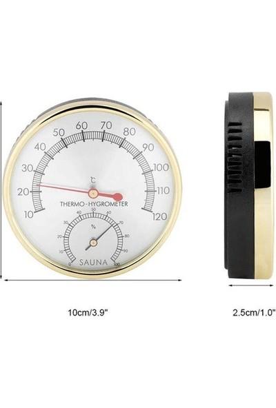 POOLLINE Sauna Higro-Termometre Metal