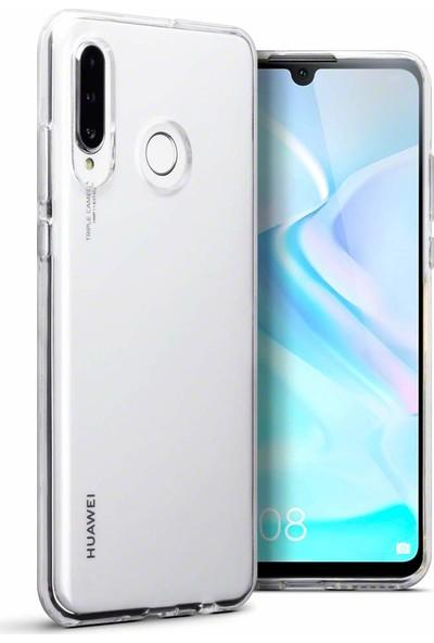 Melikzade Huawei P30 Lite İnce 1 mm Silikon Kılıf - Şeffaf