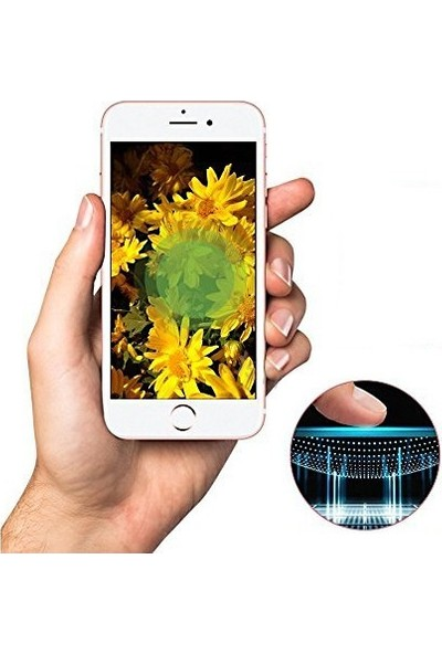 Zore Apple iPhone 6S Plus 10D Tam Kaplayan Curved Temperli Ekran Koruyucu Siyah