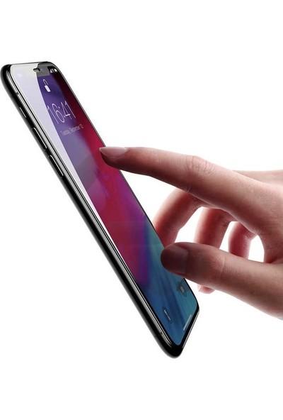 Zore Apple iPhone 11 Pro Max 10D Tam Kaplayan Curved Temperli Ekran Koruyucu Siyah