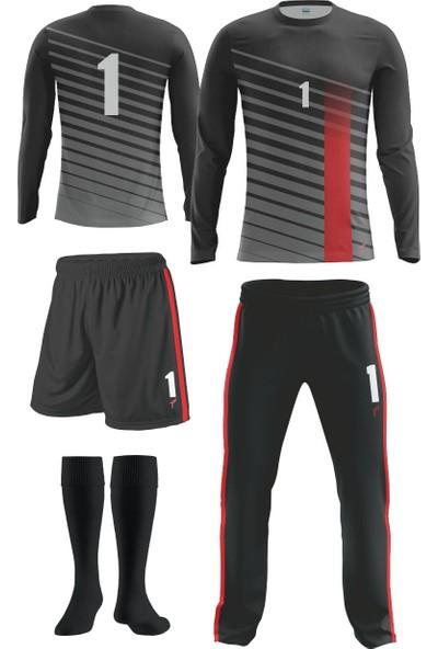 Freysport Bevel Kaleci Forması Forma + Uzun Alt + Şort + Çorap