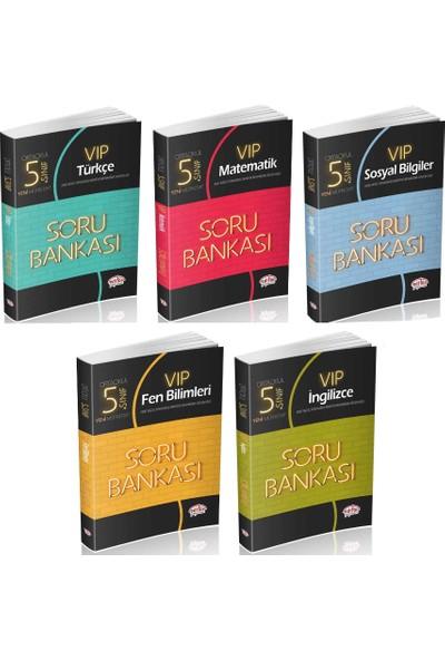 Editör Yayınları 5. Sınıf VIP Soru Bankası Seti 5 Kitap
