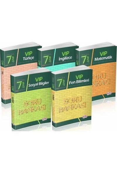 Editör Yayınları 7. Sınıf VIP Soru Bankası Seti 5 Kitap
