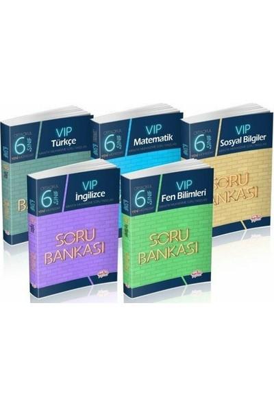 Editör Yayınları 6. Sınıf VIP Soru Bankası Seti 5 Kitap