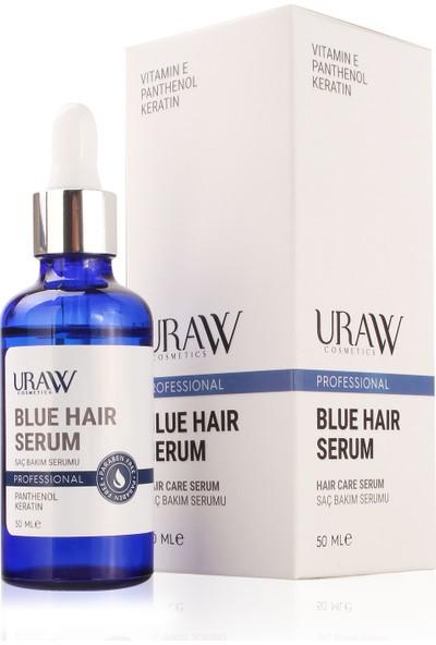 Uraw Professional Blue Hair Saç Bakımı Mavi Serum