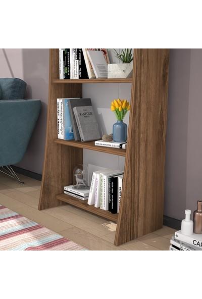 Wood'n Love Cosmo Kitaplık - Ceviz