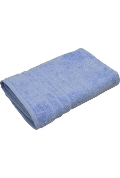 Maisonette Misafir 2'li Banyo Seti Krem - Mavi 70 x 140 cm.
