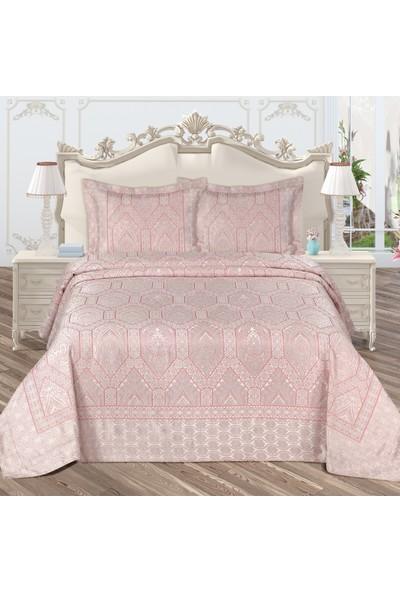Bir Home Royal Pano Çift Kişilik Yatak Örtüsü