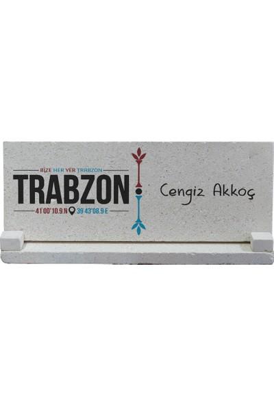 Kraftolye Bize Her Yer Trabzon Doğal Taş İsimlik KS04-1492