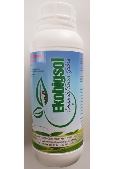 Ekobigsol Sıvı Solucan Gübresi Konsantre 1 lt
