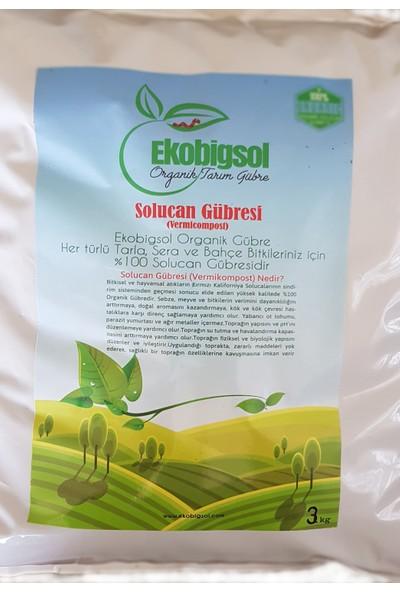 Ekobigsol Solucan Gübresi 3 kg