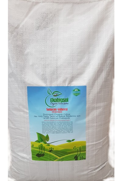 Ekobigsol Solucan Gübresi 20 kg