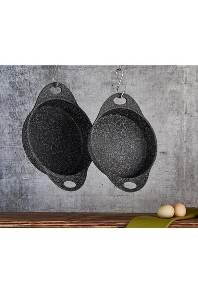 Falez Doacast Granit Döküm 22 cm Sahan Siyah