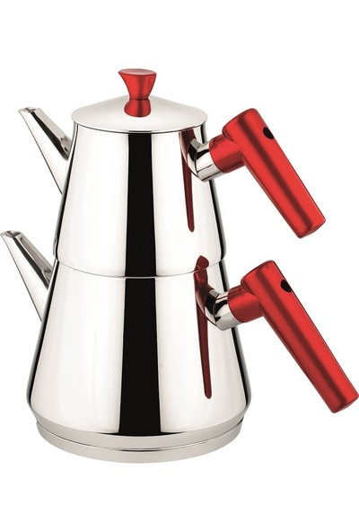 Remetta Maxi Pramide Çelik Çaydanlık
