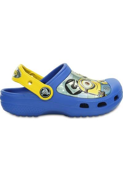 Crocs Creatıve Mınıons Clog Mavi Unisex Çocuk Terlik