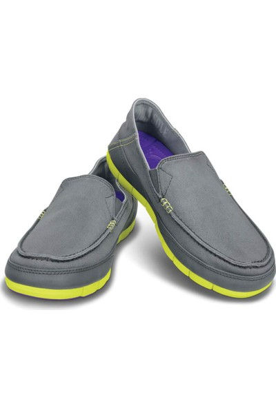 Crocs Stretch Sole Loafer Men Koyu Gri Erkek Loafer Ayakkabı