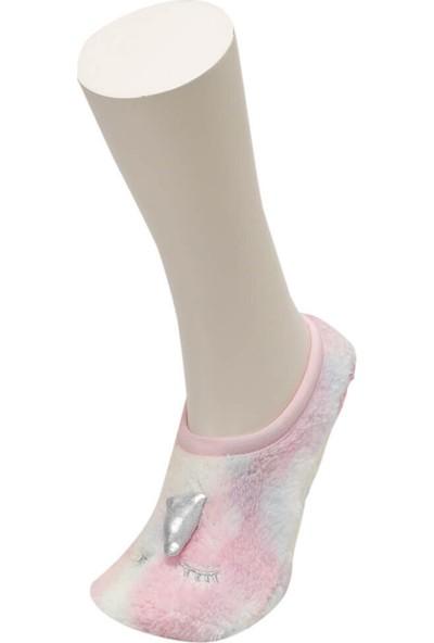 Unıcorn Cosy Ptk-G Ekru Kız Çocuk Cosy Patik
