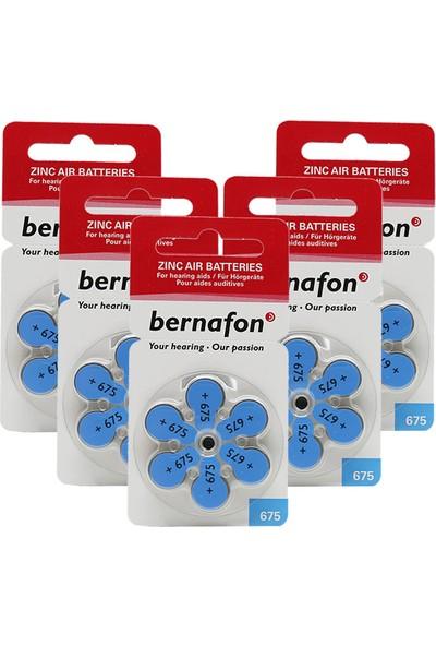 Bernafon 675 Numara Işitme Cihazı Pili 6*5 (Toplam 30 Adet)
