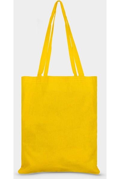 Çınar Bez Çanta Sarı Bez Çanta - 10'lu Paket