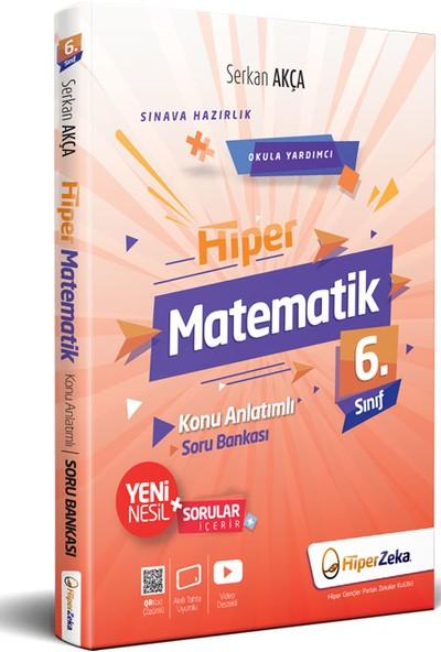 Hiper Zeka Yayınları Hiper Matematik 6. Sınıf Konu Anlatımlı Soru Bankası