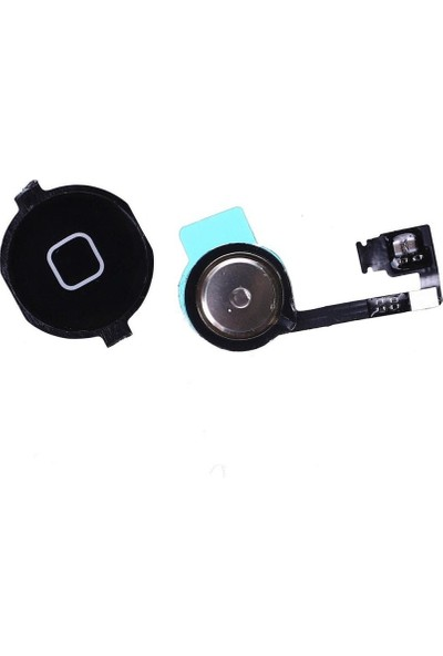 Electrozen Apple iPhone 4s Home Tuş Bordu Filmi Siyah