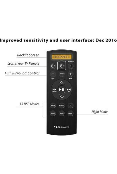 "Nakamichi Shockwafe Pro 7.1ch 400W 45"" Sound Bar With 8 Wireless Subwoofer"