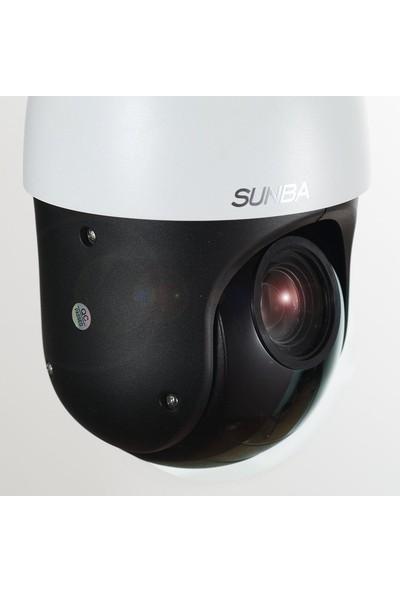 SUNBA PoE+ Mini High Speed IP 1080p PTZ Security Camera, 20X Optical Zoom