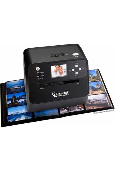 ClearClick 14 MP QuickConvert 2.0 Photo, Slide, and Negative Scanner