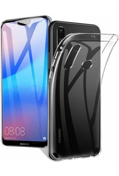 CoverZone Oppo A9 2020 Kılıf Süper Silikon Şeffaf