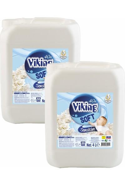 Viking Yumuşatıcı Sensitive 5 kg x 2