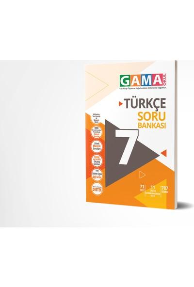 Gama Yayınları 7.Sınıf Türkçe Soru Bankası 2020