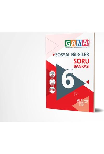 Gama Yayınları 6.Sınıf Sosyal Bilgiler Soru Bankası 2020