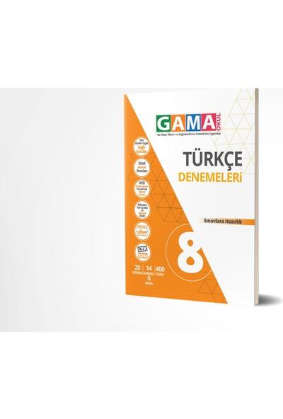 Gama Yayınları 8.Sınıf Türkçe Denemeleri 2020