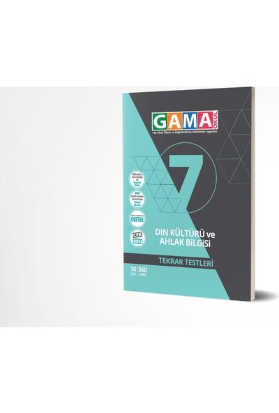 Gama Yayınları 7.Sınıf Din Kültürü ve Ahlak Bilgisi Tekrar Testleri 2020