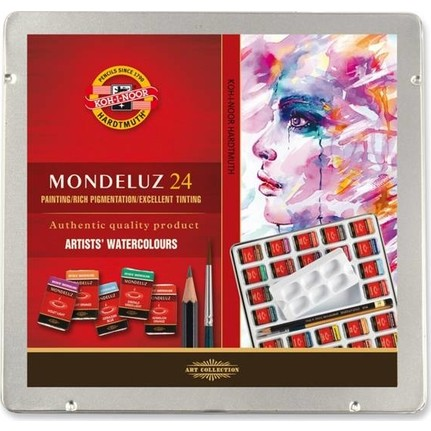 Koh I Noor Mondeluz Master Class Tas Tablet Sulu Boya 24 Fiyati