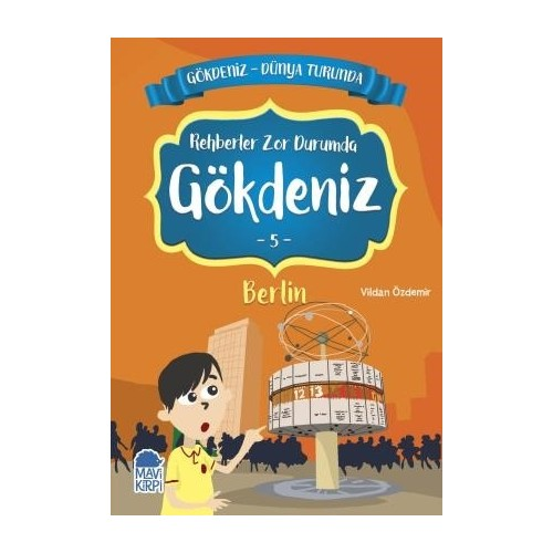 Gökdeniz Berlin Turunda / 2. Sınıf Okuma Kitabı - Vildan Özdemir